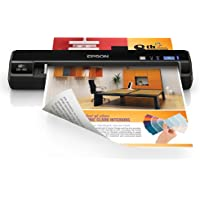 Epson WorkForce DS-40 Wireless Portable Scanner (Black)