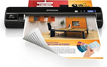 Epson WorkForce DS-40 Wireless Portable Scanner