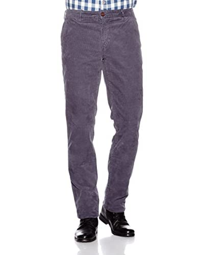 Nza New Zealand Auckland Pantalone Velluto a Coste [Antracite]