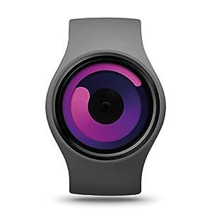 ZIIIRO Reloj - Gravity - Gris / Violeta por Ziiiro Watches