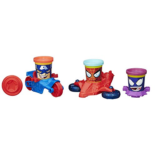 Play-Doh Marvel Can-Heads Vehicles - 1