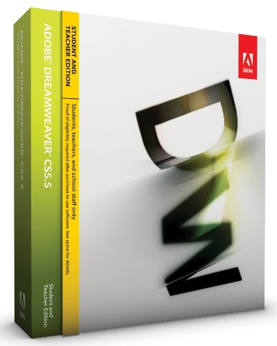Adobe Dreamweaver CS5.5 Student and Teacher Edition [Mac]