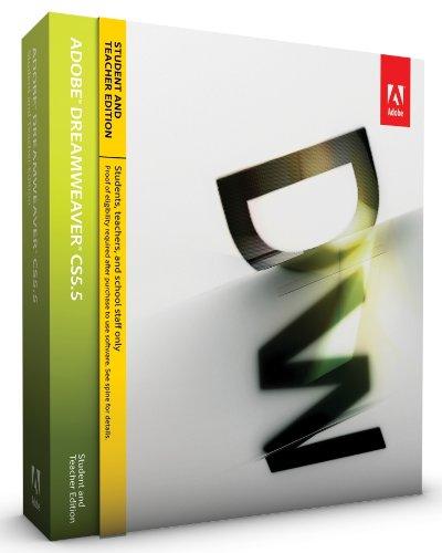 Adobe Dreamweaver CS5.5 Student and Teacher Edition