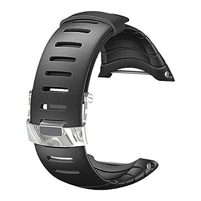 スント(Suunto) 交換ウレタンストラップ コア対応 標準 ブラック ウレタン [日本正規品 メーカー保証] Ss013336000