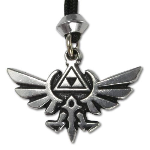 The Hylian Crest Legend of Zelda Pewter Pendant