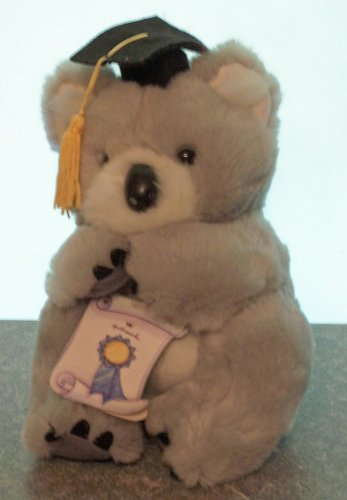Plush Koala Graduation Bear with card - 1