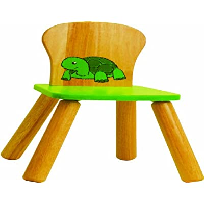 Voila - Wooden Toy - Kid's Room - Chair (Turtle)
