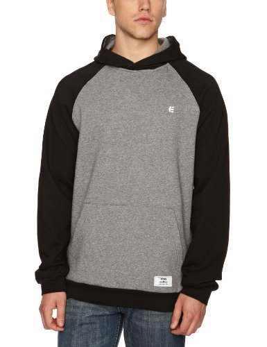 Etnies Classic Pullover Fleece Men's Sweatshirt Black Small