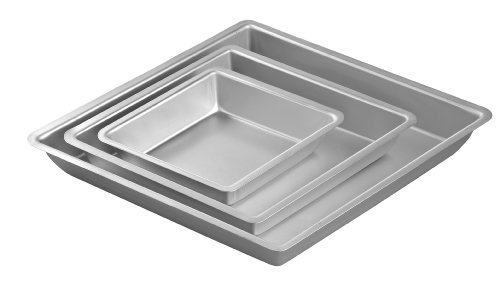 Wilton Aluminum Performance Pans 3 Piece Diamond Pan Set (Diamond Cake Pan compare prices)