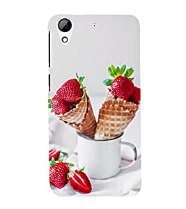 Fuson Premium D13073 Printed Hard Plastic Back Case Cover for HTC Desire 626G Plus
