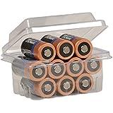 10 Pièces Duracell Batterie Photo Type CR 123 (CR17345) 3V Paquet