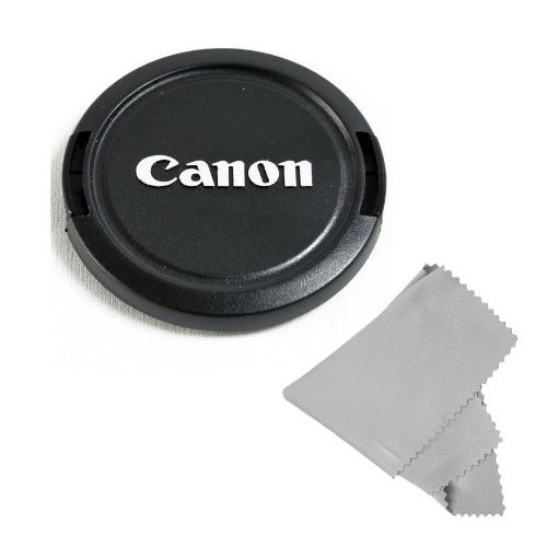 46mm + Lens Cap Microfiber Cloth Lens Cap Center Pinch for Pentax K-30