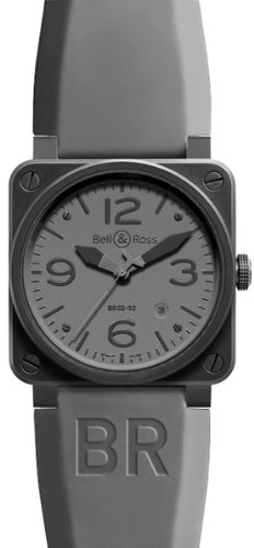 NEW BELL & ROSS AVIATION BR03 MENS WATCH BR03-92-COMMANDO