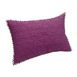 Milano Home Birds with Lining 100% Cotton Quilted Pillow Cover