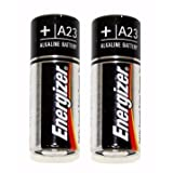 Energizer-Eveready 05266 - A23 12 Volt Photo / Garage Door Opener / Electronic Keychain Battery 2 Pack (A23BP-...