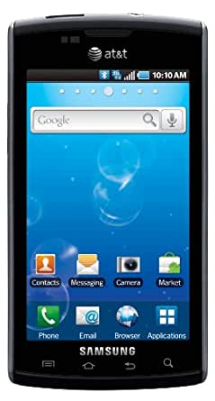 Samsung Captivate, Black 16GB (AT&T)