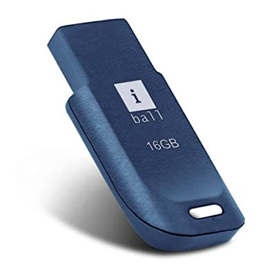 iBall 16GB Crest P9 Small / Compact & Feather Light Design Pendrive - Blue