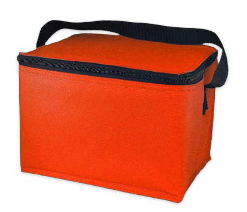 easylunchboxes insulated lunch box cooler bag orange new ebay. Black Bedroom Furniture Sets. Home Design Ideas
