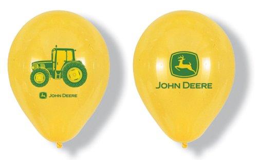 Party Destination - John Deere Tractor - Latex Balloons