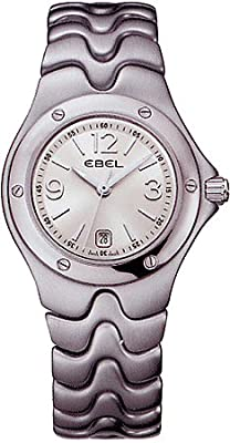 Ebel Sportwave Womens Silver Dial Stainless Steel Watch 9957K21/6611 / 1215044