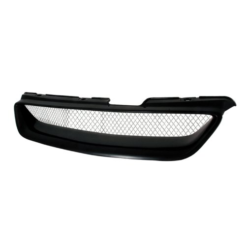 Spec-D Tuning HG-ACD98TR Honda Accord Ex Dx 2 Dr Coupe Black Type R Style Front Grille (Honda Accord Coupe 2000 compare prices)