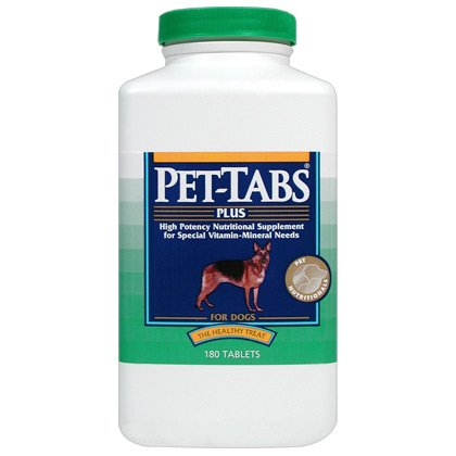 Pet-Tabs Plus for Dogs, 180 Tablets