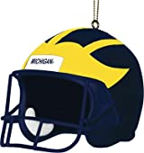 3 Inch Helmet Ornament - Michigan