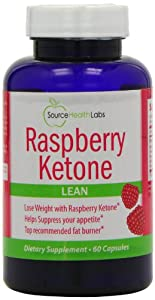 Raspberry Ketone Diet Pills Supplement - 100% Natural Weight Loss - Premium Raspberry Ketone Appetite Control and Fat Loss Formula (60 Capsules)