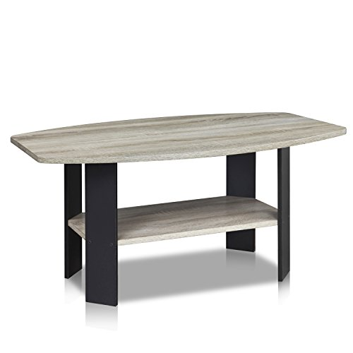 Furinno 11179gyw bk simple design coffee table b01cp2k9we for Table design history