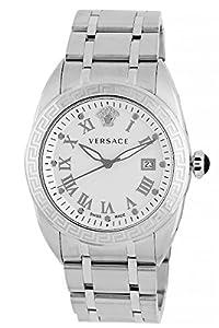 Versace Men's VFE040013 V-Spirit Analog Display Quartz Silver Watch