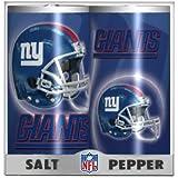 New York Giants Plastic Salt & Pepper Shaker