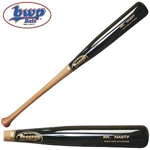Bwp Bats Mr. Nasty Pro Maple Adult Wood Baseball Bat 34 Inch by BWP Bats