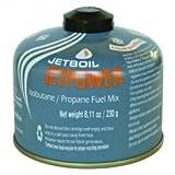 Jetboil Jetpower 4-Season Fuel Blend, 230 Gram