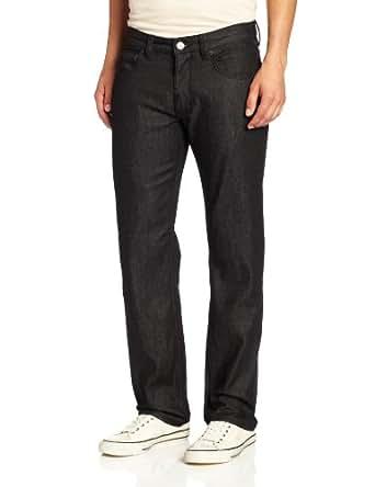 LRG Men's Core Collection Stretch Jean, Raw Black, 28