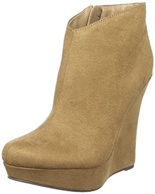 Michael Antonio Women's Cane Ankle Boot,Tan,8.5 M US