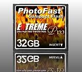 PhotoFast CFカード 32GB MLCチップ 333倍速 1年保証・日本語ブリスターパッケージ PF-333CF32SS