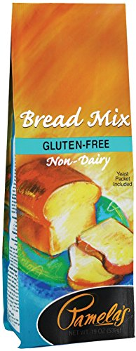 Pamela's Products  Gluten Free, Bread Mix, 19-Ounce Packages (Pack of 6)
