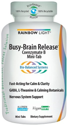 Rainbow Light Busy-Brain Release, 60 Tabs