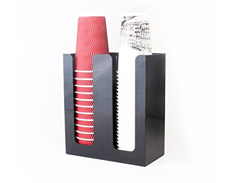SMKF Coffee Cup&Lid Sleeve Dispenser Cup holder (double) (Cup Holder Lid compare prices)