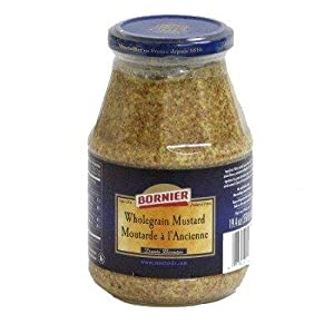 whole grain dijon mustard 7 oz whole grain mustard woebers mustard
