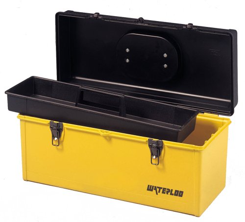 Images for Waterloo HP2051 20-Inch by 8-1/2-Inch by 8-3/4-Inch Plastic Tool Box with Tray