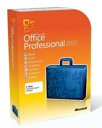 Microsoft Office Professional 2010 - 2Pc/1User (Disc Version)