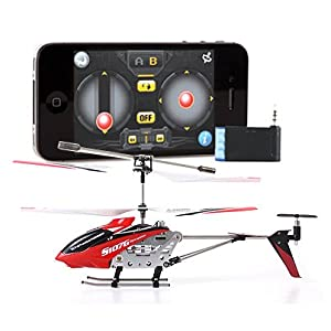 iPhone iPad iTouch Controlled Syma S107 3 Channel RC Helicopter iCopter - Colors May Vary by Syma