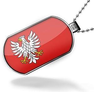 Amazon.com: Dogtag Mazovia (Mazowieckie) Flag region
