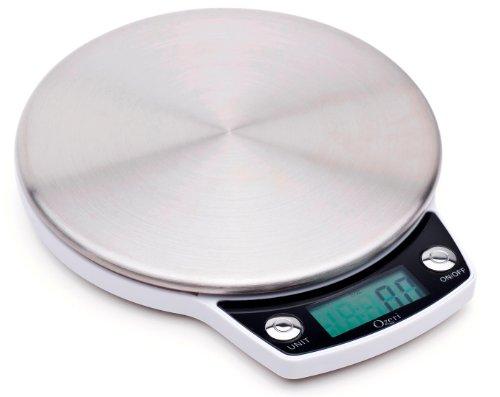 Ozeri ZK011 Balance de cuisine professionnelle en acier inoxydable - Large plateau