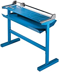 Dahle 558 S Professional Large Format Rolling Trimmer with Stand, Grade: 12 to 12, 48.5\'\' Height, 14.125\'\' Width, 58.875\'\' Length