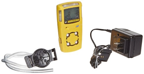 BW Technologies MC2-XWHM-Y-NA GasAlertMicroClip XT 4-Gas Detector with Rechargeable Lithium Polymer Battery, Combustible, O2, H2S and CO, Yellow (4 Gas Sniffer compare prices)