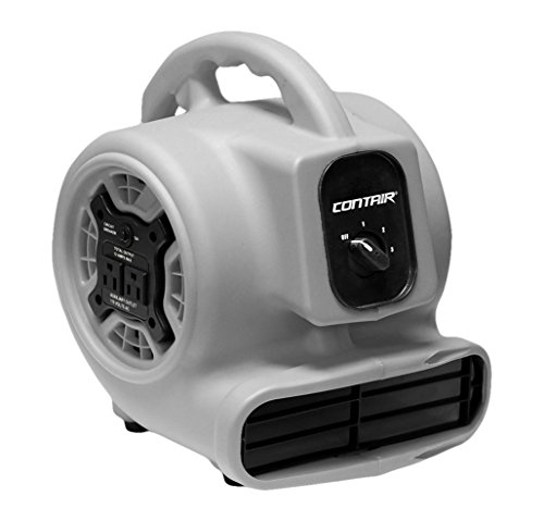 Most Powerful Floor Fans : Contair flo gy flow high velocity powerful air mover
