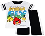 Angry Birds Boys 4-7 White Some Have To Run Others Fly Tee and Short Set