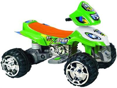 Mini Motos ATV Sport 12v ASSORTED COLORS SENT AT RANDOM- GREEN OR RED - (power wheels) (ride on)